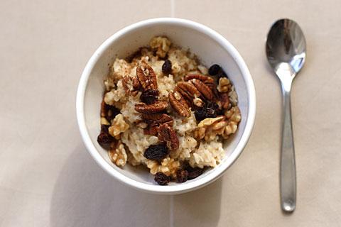 基本朝食オートミール