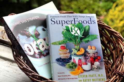 洋書:Super Food and Oracle Diet