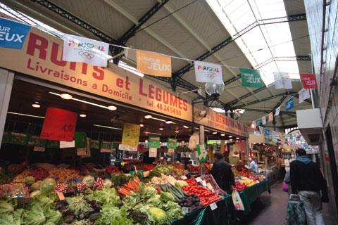フランス旅行:市場の野菜レギューム