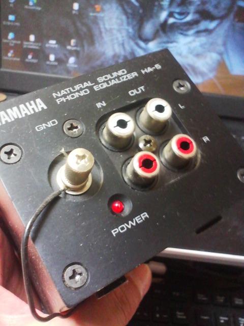 TS3R0313フォノイコライザー