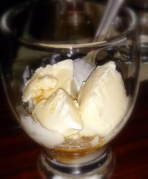 バニラアイスと古酒