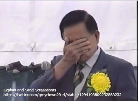 イナボ氏(パラオ)1995年