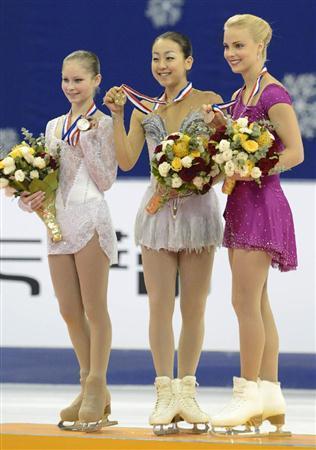 フィギュアスケート中国杯2012