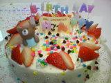 お誕生日ケーキ