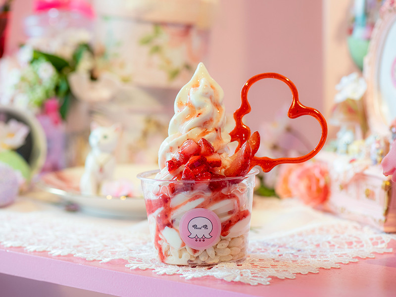 「Pecca+Pu」の甘酒ソフトクリーム
