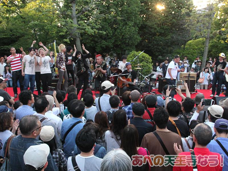 「どっぷり、昭和町。」で木村充揮さんのライブ