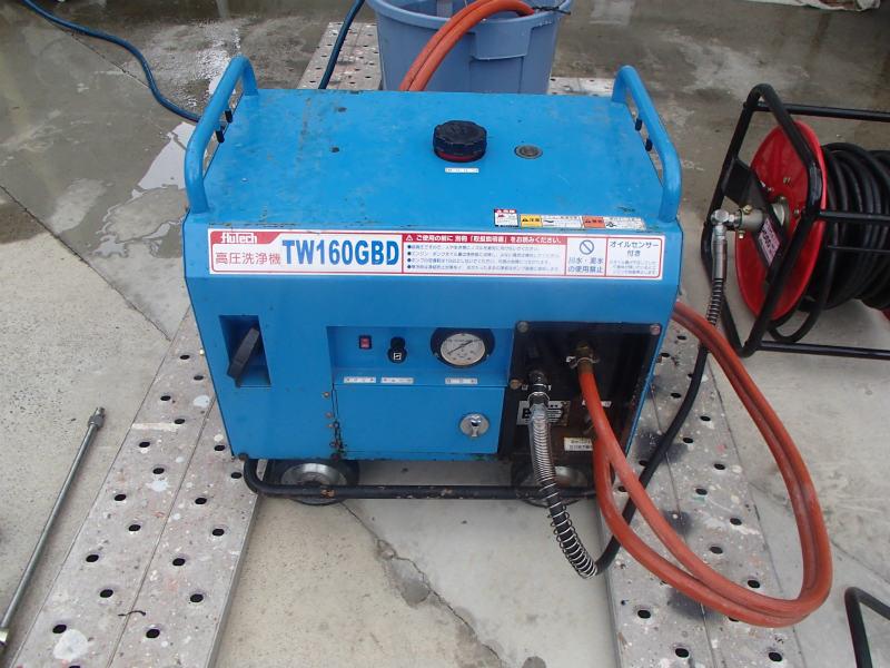 防音型 高圧洗浄機