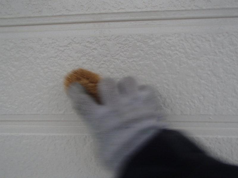 外壁塗装 水洗い チョーキング除去 手洗い