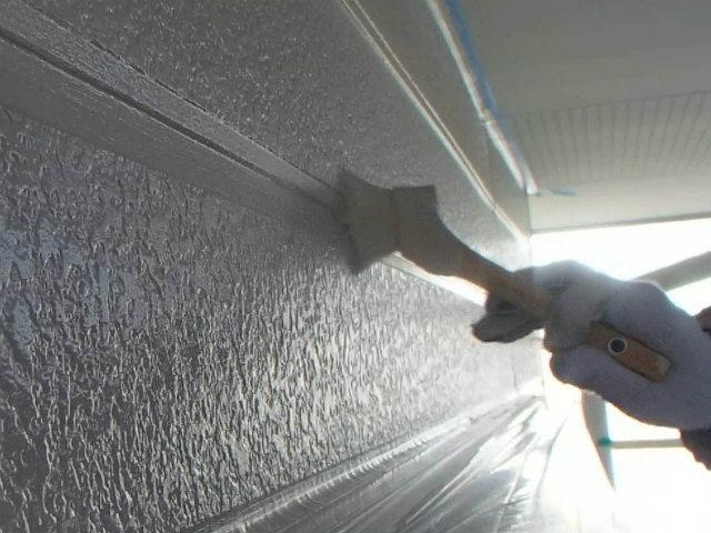 外壁塗装 刷毛塗り
