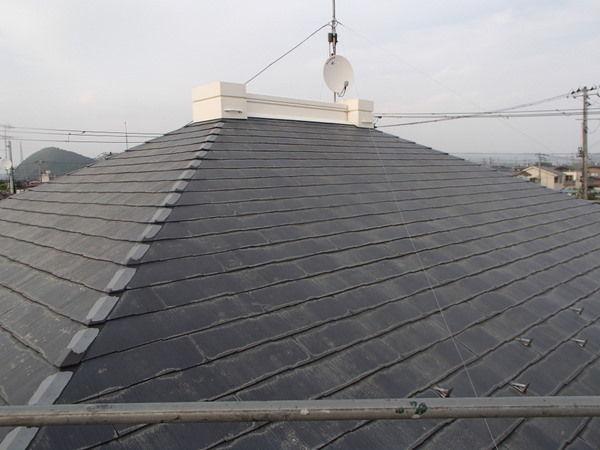 屋根洗浄 完了