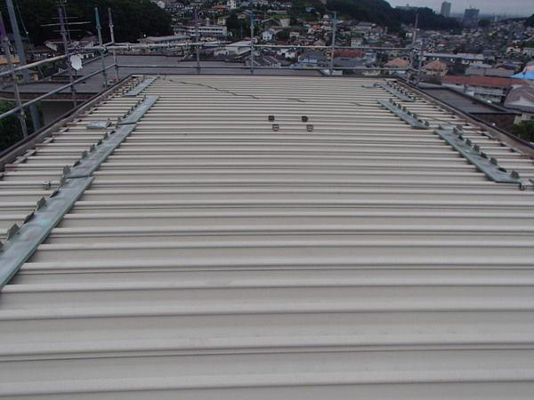 折板屋根塗装 ふた セキスイハイム