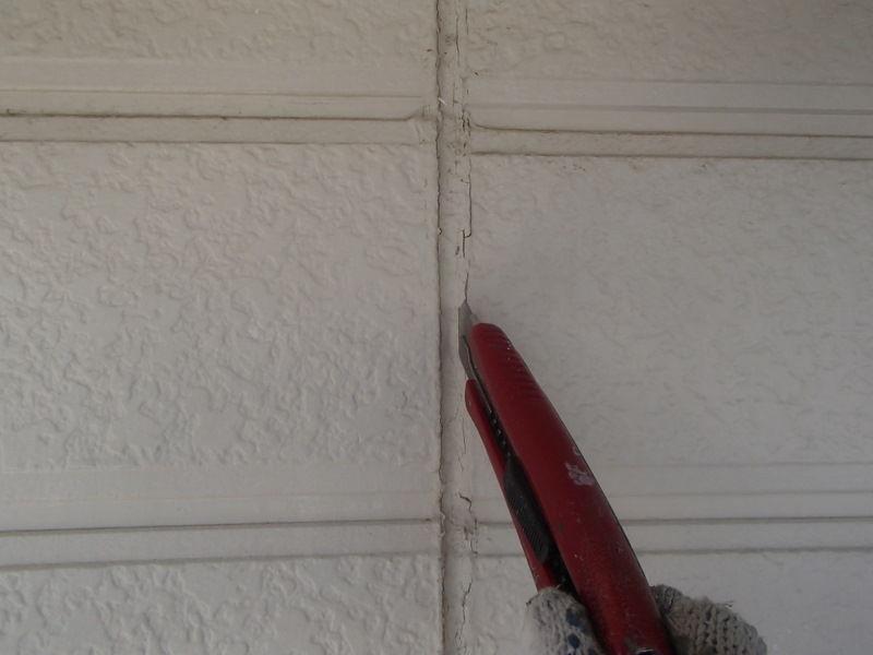 外壁塗装 シーリング撤去