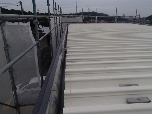 折板屋根 フタ セキスイハイム