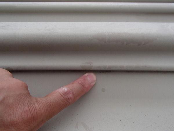 水洗い 折板屋根塗装