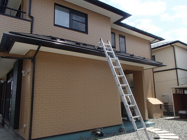 外壁/屋根塗装完了