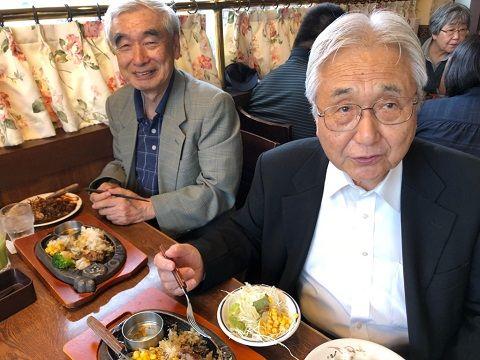 さん牧師と吉藤