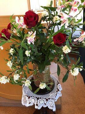 お花今日の