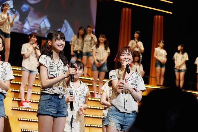 8枚目シングル選抜メンバー発表時の様子