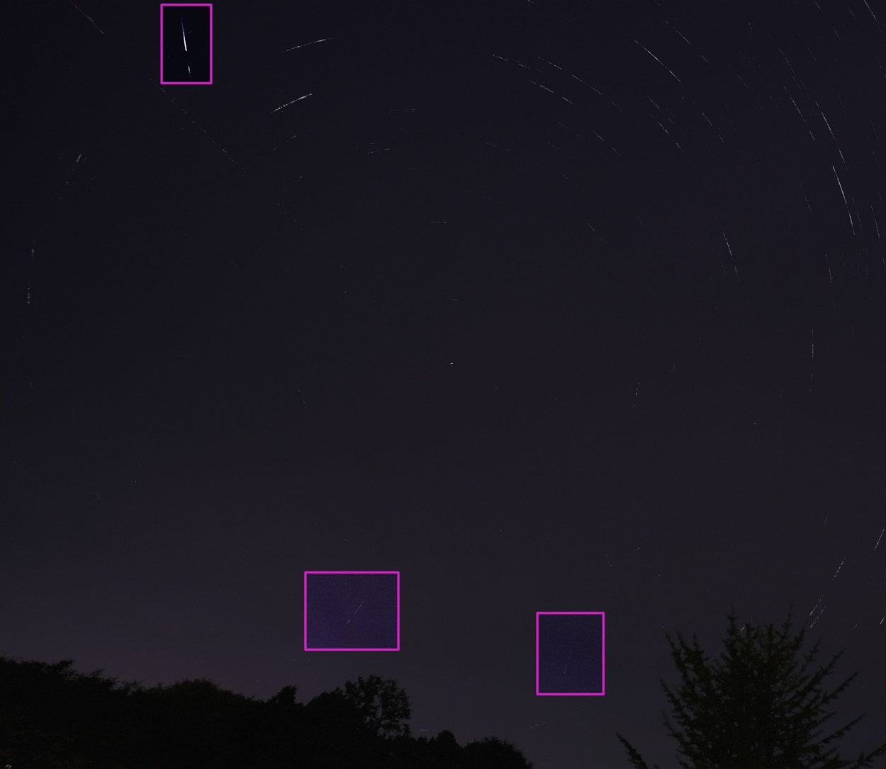 ペルセウス座流星群20190813_大田原