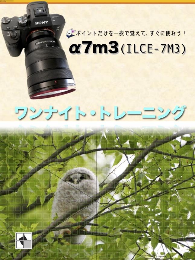 α7m3ワンナイトトレーニング_Kindle版