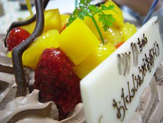 誕生日ケーキ長女6