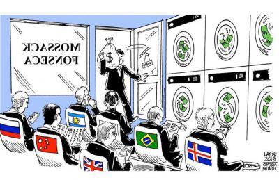 中東の窓 : パナマ文書と資金洗...