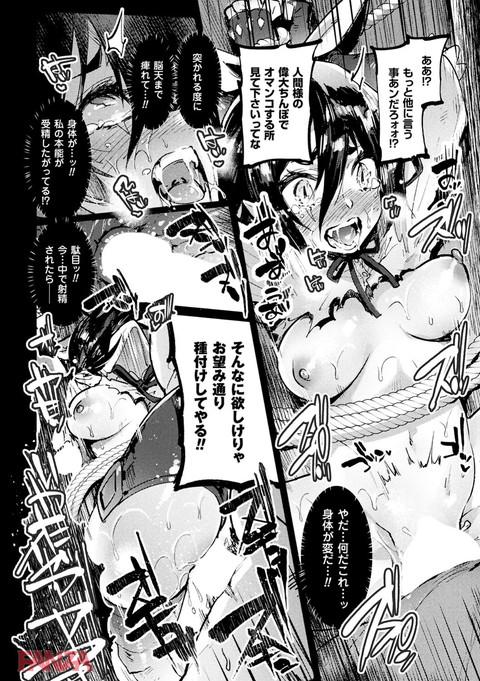 二次元コミックマガジン 磔にされたヒロインを極太男根で絶頂杭打ち! Vol.2-0019