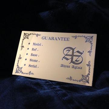 「Guarantee」