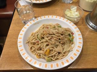 ツナとアボカドのわさび醤油スパゲッティ
