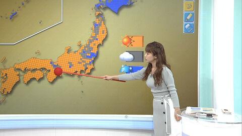 【画像】NHK、えちえち気象予報士を使い視聴者サービスをするwwwwwwwwww