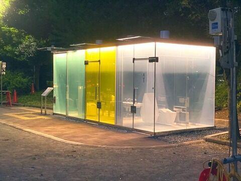 渋谷さん、治安悪すぎて公衆トイレが可視化されるwwww (※画像あり)