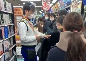 【動画】 ヨドバシカメラ、並んでるのに欲しい商品の名前を言えない客を強制排除