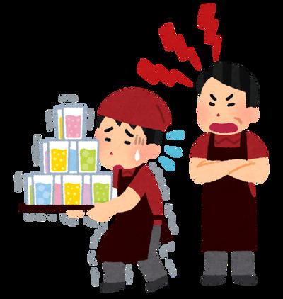 【悲報】ワイCoCo壱バイト一週間、店長に客前で怒鳴られる