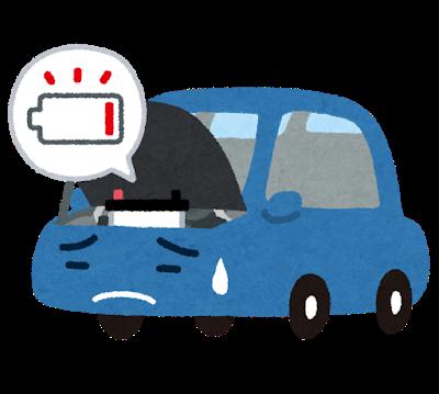 車のバッテリー上がってもたんやけど隣の車救援車にしてもええんか?