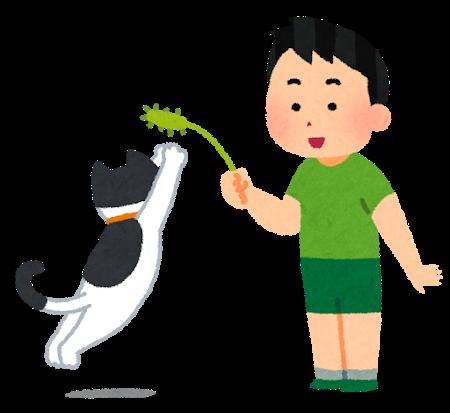 【わんわんお】猫じゃらしを使いこなして猫を手玉に取る犬が凄すぎるwwwwwwwwww