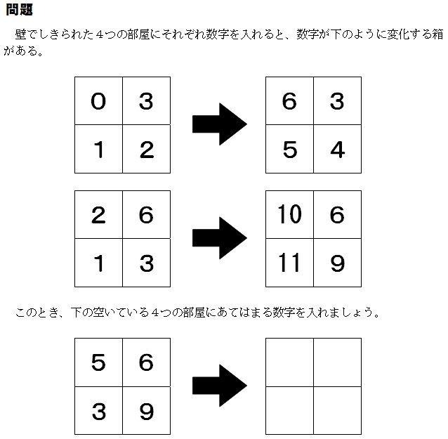 算数パズル」の検索結果 ...