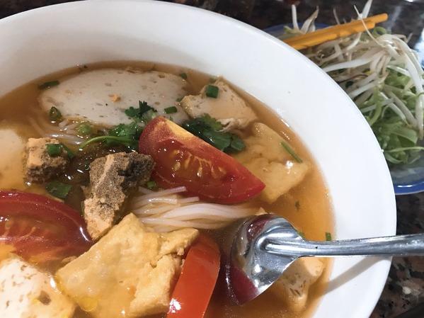 ベンタン市場麺
