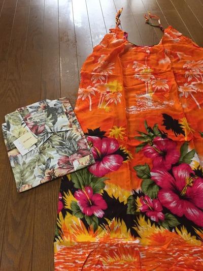 ハワイ結婚式衣装
