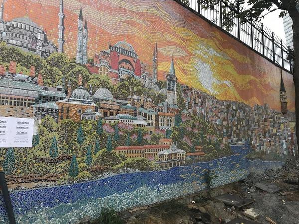 壁画mecidiyekoy