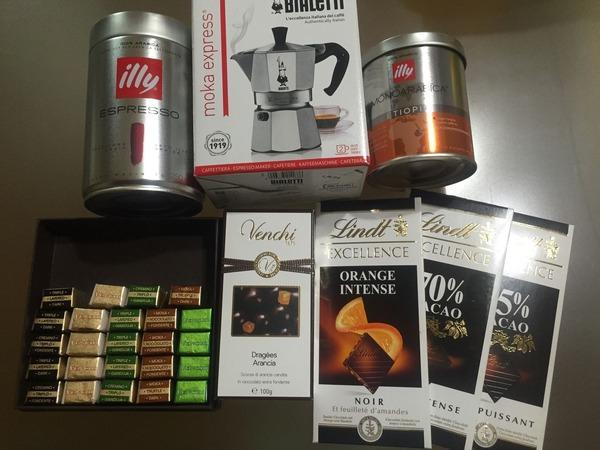 イタリア土産チョココーヒー