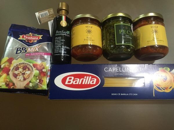 イタリア土産食材