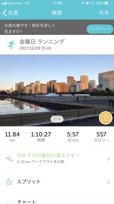 2017走り納め