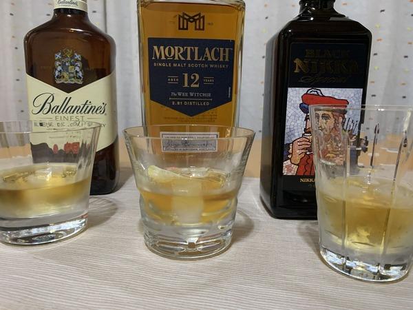 ウイスキー飲み比べ2021夏02