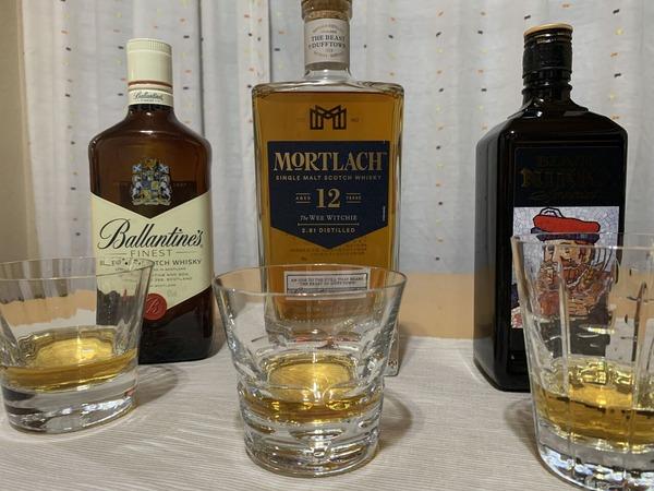 ウイスキー飲み比べ2021夏01
