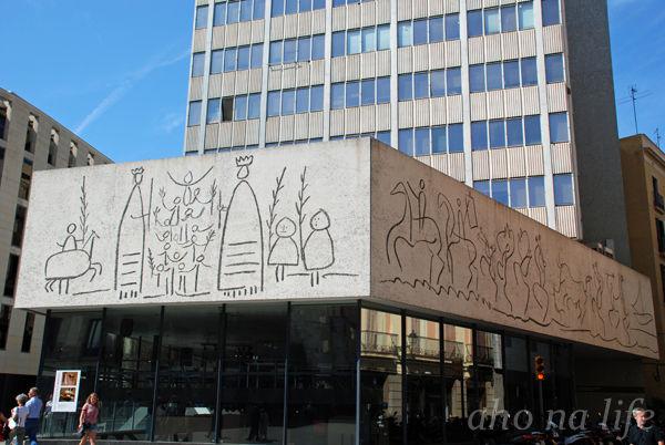 建築士会会館の壁画