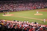 一塁側一階エンゼルスタジアム
