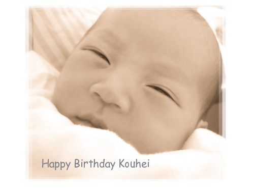 Happy birthday Kouhei