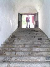 マカオミュージアム外階段