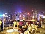 香港夜景去る_デッキ1