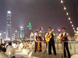 香港夜景去る演奏